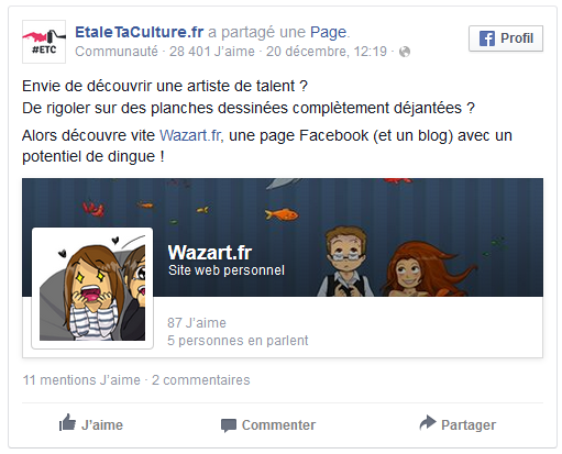 screenshot facebook mention de etaletaculture.fr