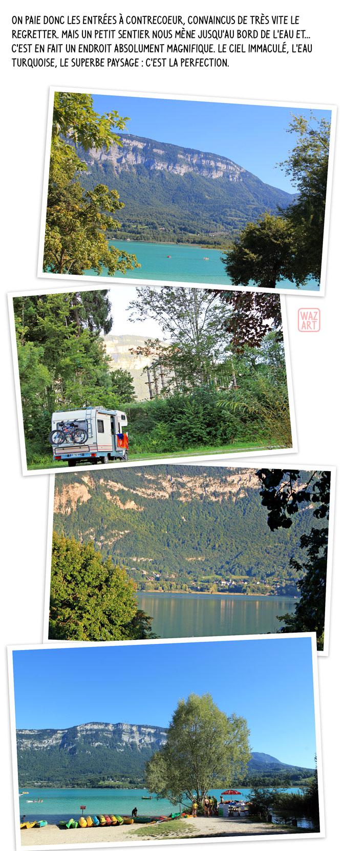 ciel immaculé, eau turquoise, paysage superbe : un petit coin de paradis