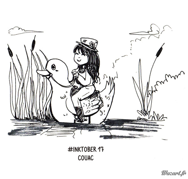 inktober 17 : Couac
