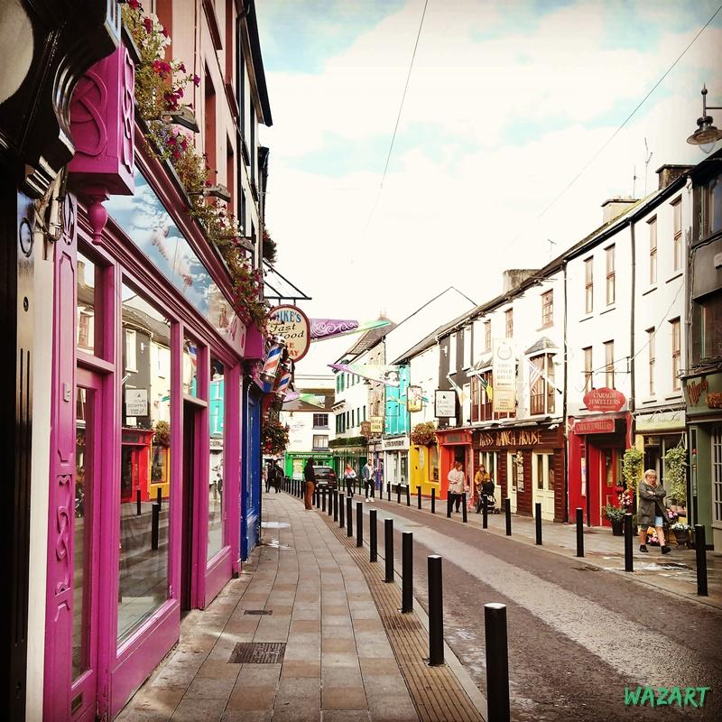 Photo des rues de Killarney