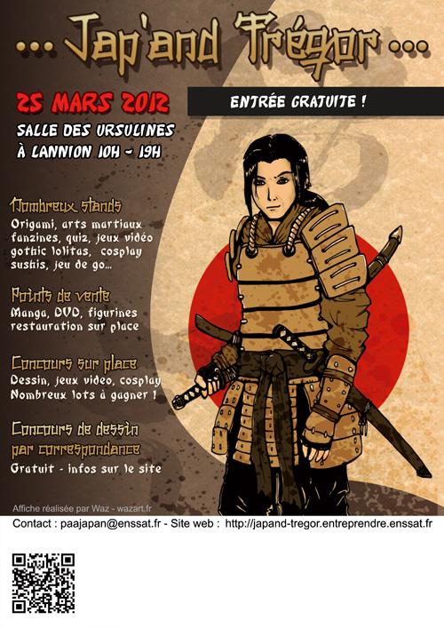 nouvelle proposition pour l'affiche jap'and trégor 2012